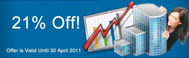 April offer 21%
