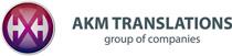 AKM Translations logo